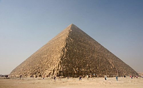 The Great Pyramid at Giza Giza Governorate, Egypt in Night at the Museum: Secret of the Tomb