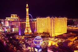 Las Vegas, Nevada by Paris Las Vegas Hotel in Sleepless