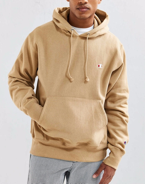 Scott Disick's Beige Champion Reverse Weave Hoodie Sweatshirt from ...