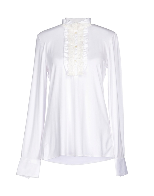 Longsleeve Lace Blouse by La Camicia Bianca in On Her Majesty's Secret Service