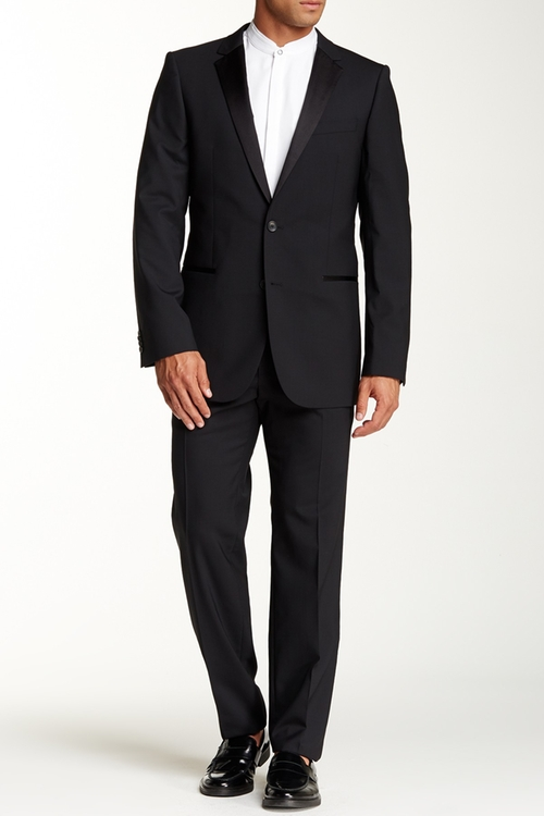 Aikin Hollo Notch Lapel Suit by Hugo Boss in The 33