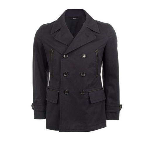 Cotton Pea Coat by Tom Ford in Elementary - Season 4 Episode 16