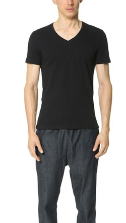 V Neck Slub Jersey T-Shirt by ATM Anthony Thomas Melillo in The Martian