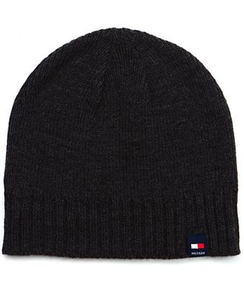 Basic Beanie by Tommy Hilfiger in Secret in Their Eyes