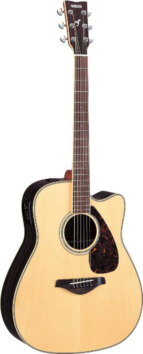 FGX730SC Acoustic Electric Guitar by Yamaha in If I Stay