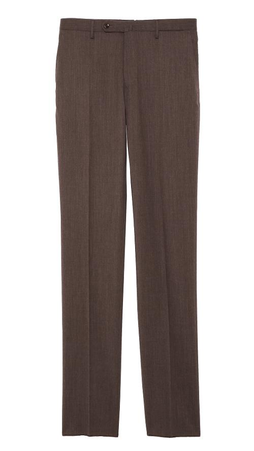 Basic Slim Fit Dress Trousers by Incotex in And So It Goes