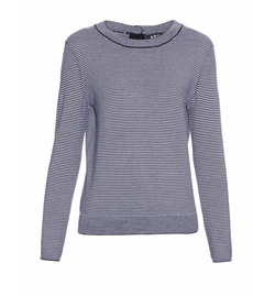 Striped Merino-Wool Sweater by A.P.C. in Star