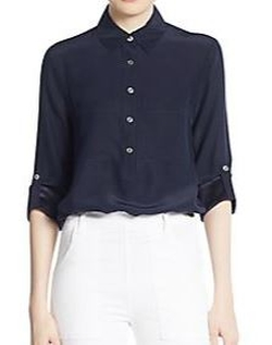 Silk Blouse by Frame Denim in Chelsea