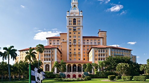 The Biltmore Hotel Coral Gables, Florida in Ballers - Season 1 Episode 2 - Raise Up