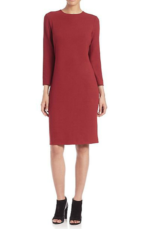 Bouclé Knit Dress by Vince in The Good Wife - Season 7 Episode 12