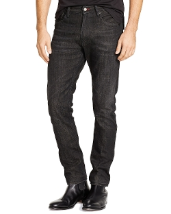 Aston-Wash Stretch Jeans by Ralph Lauren Black Label in Before I Wake