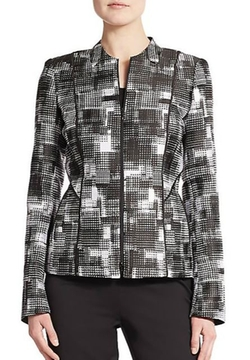 Graphic-Print Jacket by Lafayette 148 New York in The Good Wife
