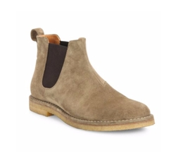 Sawyer Calf Suede Chelsea Boots by Vince in Lethal Weapon