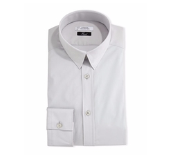 Button-Front Solid Dress Shirt by Versace in Jason Bourne