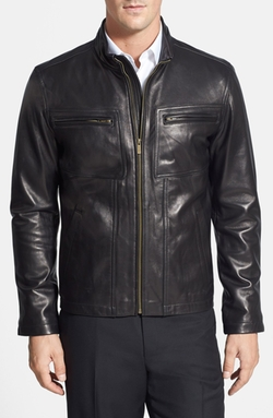 Lambskin Leather Jacket by Cole Haan in The Expendables 3