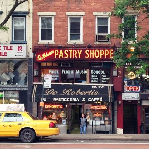 De Robertis Pasticceria & Caffe New York City, New York in Begin Again