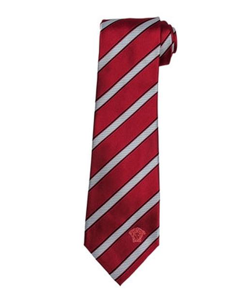 Diagonal-Stripe Silk Tie by Versace in Point Break