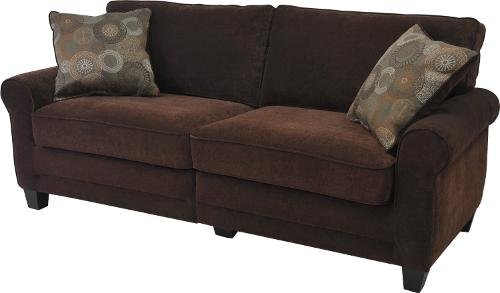 Trinidad Collection Deluxe Sofa by Serta in No Strings Attached