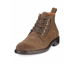 Waverly Side-Zip Lace-Up Boots by John Varvatos in Animal Kingdom
