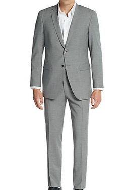 Regular-Fit Stretch Virgin Wool Suit by Sand in Jem and the Holograms