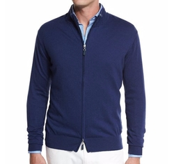 Crown Soft Full-Zip Sweater by Peter Millar in House of Cards