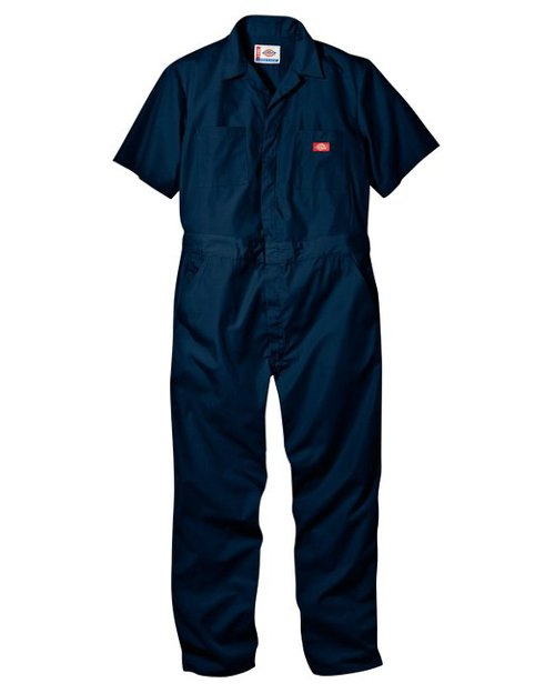 Men's Short Sleeve Coverall by Dickies in Top Five