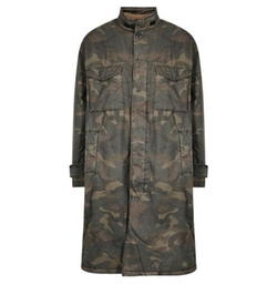Camouflage Coat by Yeezy in Keeping Up With The Kardashians