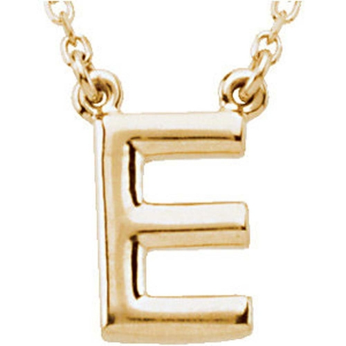 Block Initial Necklace by Banvari in Pretty Little Liars - Season 6 Episode 9
