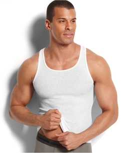 Platinum Underwear Tank Shirt by Hanes in Empire