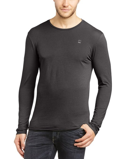 Mill Crew-Neck Long-Sleeve Jersey T-Shirt by G-Star Raw in The D Train