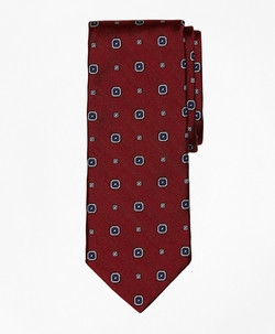 Herringbone Medallion Tie by Brooks Brothers in The Blacklist