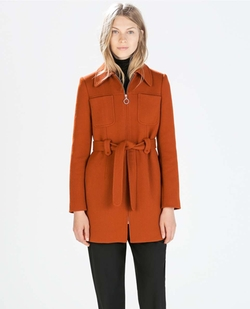 Front Pockets Coat by Zara in How To Get Away With Murder