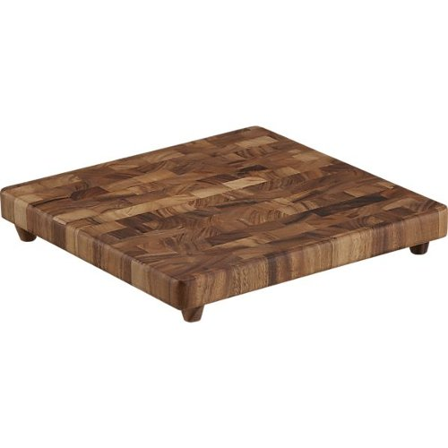End Grain Chopping Board by Crate & Barrel in John Wick