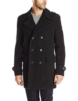 Moody Black Overcoat by Calvin Klein in The Flash