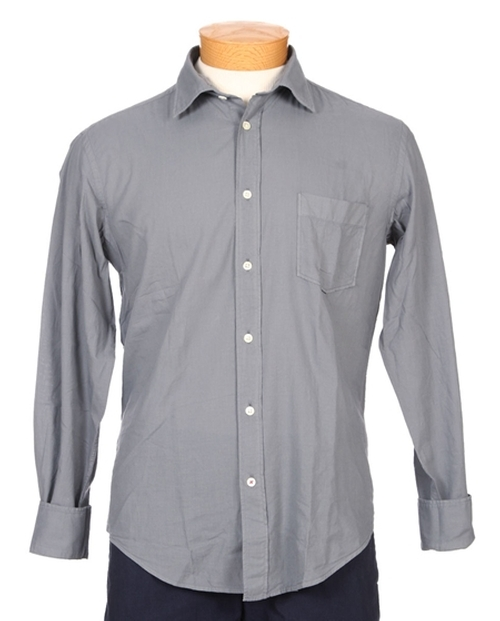 Garment Dyed Cotton Voile Button Down by Hartford in Straight Outta Compton