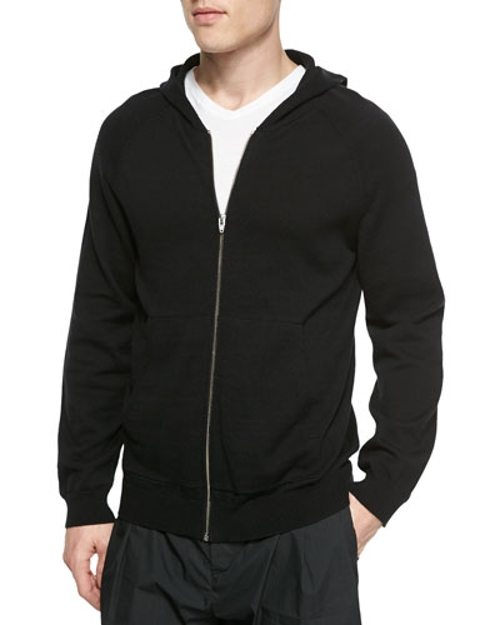 Cotton Zip Hoodie by T by Alexander Wang	 in Furious 7