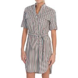 Graydon Derby Stripe Dress by Lafayette 148 New York in Lee Daniels' The Butler