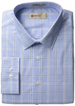 Long Sleeve Pattern Dress Shirt by Haggar in The Judge