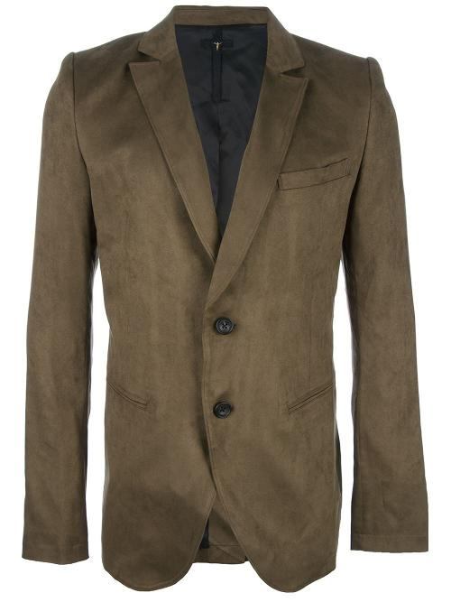 Textured Blazer by L.G.B. in What If