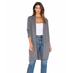 Side Slit Cardigan by Vince in Quantico