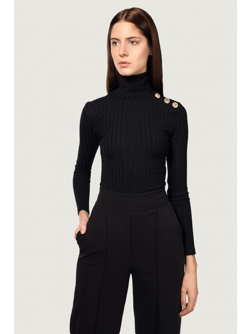 Turtle Neck by Kyna Collection in Keeping Up With The Kardashians - Season 12 Episode 4