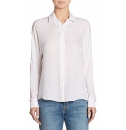 Button-Down Blouse by Vince in Jurassic World