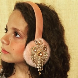 Custom Earmuffs by Kiz Muffs in Scream Queens