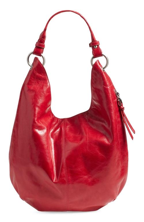 'Gardner' Leather Shoulder Bag by Hobo in Crazy, Stupid, Love.