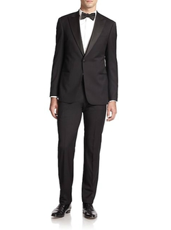 Peak-Lapel Virgin Wool Tuxedo by Armani Collezioni in Mission: Impossible - Rogue Nation