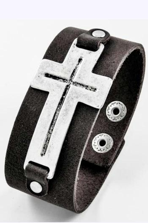 Leather Bracelet by Shoptiques in Mean Girls