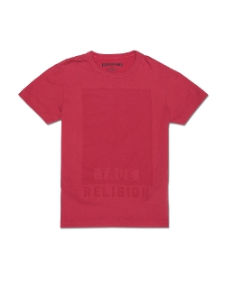 Resist Print Little Boy's T-Shirt by True Religion in The Overnight