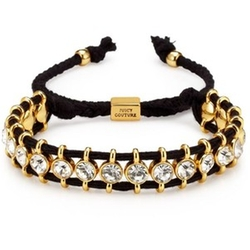 Black Rhinestone Friendship Bracelet by Juicy Couture in Pitch Perfect 2