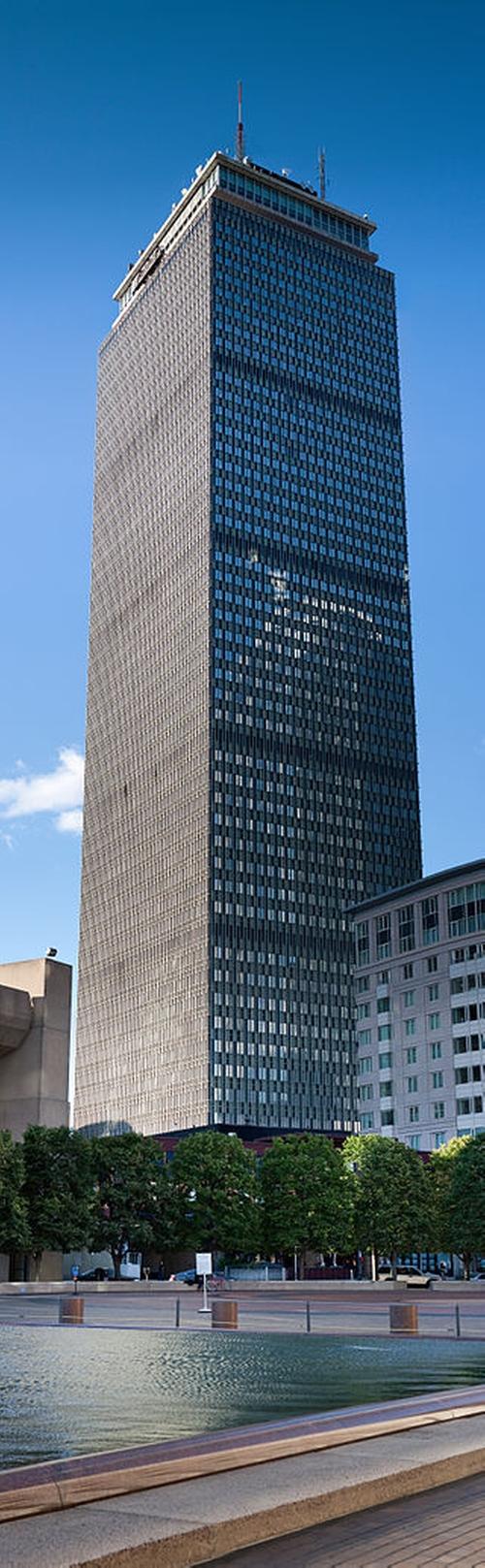 Prudential Tower Boston, Massachusetts in Black Mass