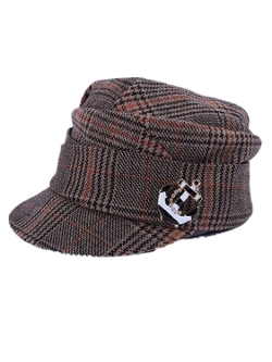 Plaid Outwear Hat by Chericom Store-Hat in Thor